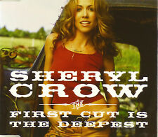 CD Maxi-Sheryl Crow-the first cut is the deepest - #a2200