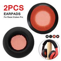 2Pcs Replacement Ear Pads Comfortable Cushions For Razer Kraken Pro Headphones