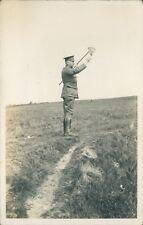 WW1 Postcard 5th Lancashire  Artillery Volunteers Major Rylands Summer 1913