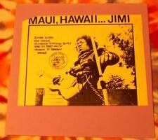 JIMI HENDRIX Maui, Hawaii...Jimi TRADE MARK OF QUALITY VG++ Red Vinyl TMOQ Psych
