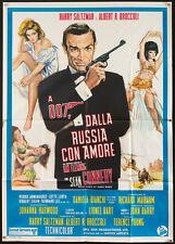 "FROM RUSSIA WITH LOVE  Italian 39""x55"" RI poster James Bond 007 filmartgallery"