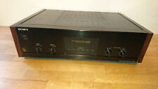 Sony TA-N220 mit Holz  Endstufe Amplificateur Amplifire Poweramp Stereo