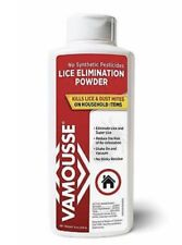 VAMOUSSE Home Lice & Dust Mite POWDER 8oz Non-Toxic household item  SEALED