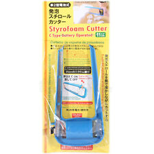 Styrofoam Cutter - Battery Operated Hot wire knife with Spare Wire ( Blue )