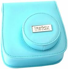 Genuine Fujifilm Fitted Carry Case for Fuji Instax Mini 8 Camera (Blue)