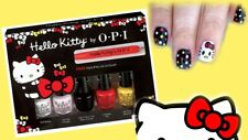 OPI Hello Kitty Friend Pack 5 Mini Nail Lacquer Polish Art Tool 6PC Set Let's NW