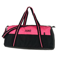 Puma Fundamentals II unisex Bag Sports Training Gym Duffle Bag Shoulder Black