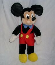 "17"" VINTAGE APPLAUSE DISNEY MICKEY MOUSE STUFFED ANIMAL PLUSH TOY DOLL FIGURE"