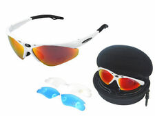 White Cycling Sunglasses & Goggles