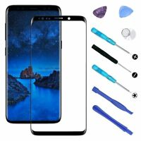 For Samsung Galaxy S9 S9 Plus OEM Front Glass Lens Screen Replacement +Tools Kit