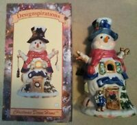 Christmas Down Home snowman Designspirations in Box brand new *Merry Christmas