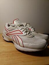 Reebok Easytone Smoothfit Fitness Shoes Women's Size 8.5 White & Pink NICE