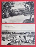 2 x AK OHRDRUF in Thüringen 1917 Genesungsheim und Truppenlager  ( 23936