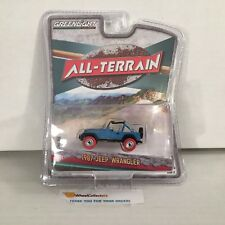 Chase Red Tires * 1987 Jeep Wrangler * Greenlight All-Terrain * NB20