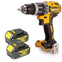 Dewalt DCD796N 18v XR Brushless Compact Combi Drill + 2 x DCB182 4Ah Batteries