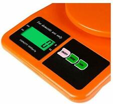 Weighing Scale Digital Electronic Ionix LCD Kitchen 10 Kg Spices Vegetable Ivory
