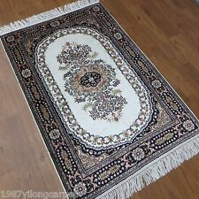 Yilong 2.5'x4' Hand Knotted Silk Area Rug Home Interior Oriental Carpet 836B