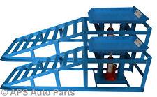 3000 Lb environ 1360.78 kg Garage Van mécanicien Bouteille Jack ramp Heavy Duty Hydraulic voiture rampe Paire