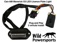 Led License Plate Light For Can Am Maverick X3 Plug And Play