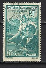 France 1938 Oeuvres sociales Yvert n° 417 oblitéré 1er choix (2)