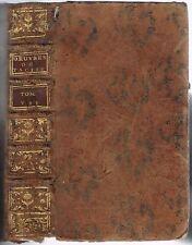VIE de TACITE & d'AGRICOLA Mœurs GERMAINS traduit par de la BLÉTERIE 1776 Tome 7