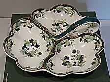 Masons Chartreuse - Tri-lobed Serving Dish - MIB
