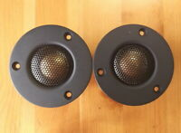 2pcs cooper& beryllium alloy dome Tweeter  91db  30W