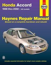 Repair Manual Haynes 42014 fits 98-02 Honda Accord