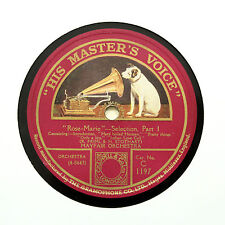 """Mayfair ORCHESTRA """"ROSE MARIE-Sélection"""""""" 12"""" HMV C-1197 [78 tours]"""