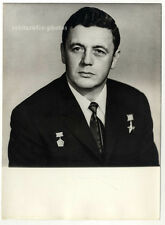 Vladislav Volkov, Soviet Cosmonaut, Original-vintage Photo from 1970