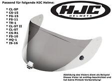 HJC visera hj-09 cl-SP cs-15 fg-15 fs-11 tr1 ligeramente tintadas antifog-beschichtetet