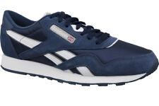 online store c34b9 c39e2 Reebok Shoes – CL Nylon Blue silver white 39749 Mens Sport Urban Street 40.5