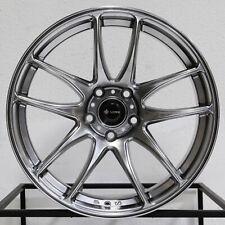 4 New 18 Vors Tr4 Wheels 18x85 5x1143 35 Hyper Black Rims 731