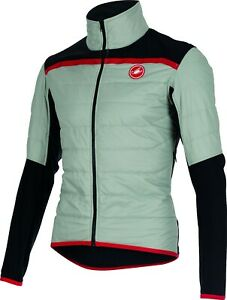 Castelli Men's Cross Pre Race Jacket Grey Size Large : TWO DAY SUPER SALE