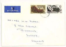 SS153 1976 FALKLANDS to GB Surrey Richmond Commercial Airmail {samwells-covers}