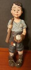 Sarah's Attic Grandma's Favorites 1990 / Jack Boy / Youth Baseball Figurine 6""