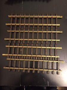 """Set of 4 LGB Straight Model Railroad Track 12"""" (300mm) #10000"""