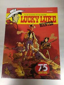 Lucky Luke Hommage 4 Lucky Luke Wanted Ausgabe 6.5.2021