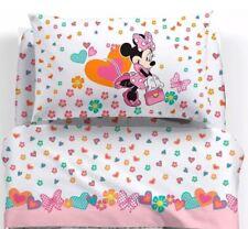 COMPLETO LENZUOLA UNA PIAZZA Caleffi Minnie Happy Disney