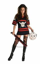 Womens Friday The 13th Miss Voorhees Halloween Fancy Dress Costume Small