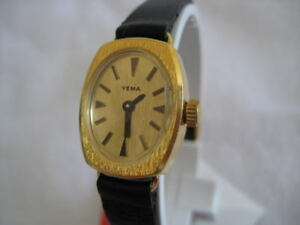 NOS YEMA NEWVINTAGE STAINLESS STEEL NICE  WATCH 1960'S