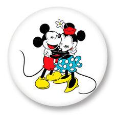 Magnet Aimant frigo Ø38mm Mickey Minnie Mouse Walt Disney Dessin Animé