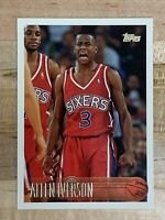 1996-97 Topps Allen Iverson #171 Rookie Basketball Card!!! 🔥🔥