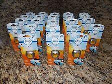 Huge Lot of 23 NEW Febreze Car Fresh-Fall Pumpkin Air Freshener Vent Clips