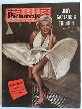 Marilyn Monroe Picturegoer Cover Magazine 1954 Seven Year Itch Scene Rare UK