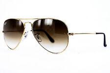 Ray-Ban Lunettes de soleil/Sunglasses Aviator Large Metal rb3025 001/51 58 135+ étui # *