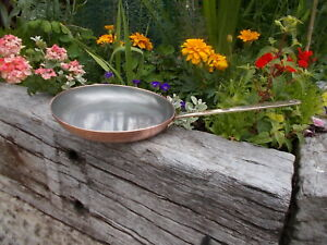 Lovely English Vintage Copper Lined Saute Pan  Ref MP/154