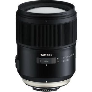 Tamron SP 35mm f/1.4 Di USD F045 Lens for Nikon F  no extra cost New