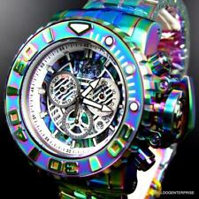 Invicta Sea Hunter Gen II Iridescent Steel Abalone 70mm Swiss Mvt Watch New
