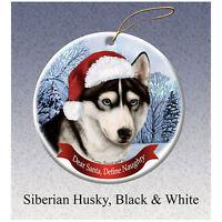 SIBERIAN HUSKY  ~ NUTCRACKER DOG SOLDIER ORNAMENT #40